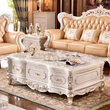 popular gold coffee tables buy cheap lots from rectangle