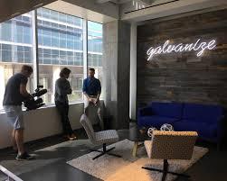 the galvanize video team shooting at galvanize u0027s austin tx campus