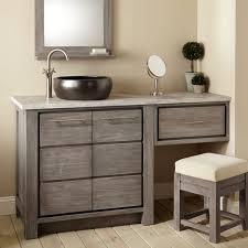 Vanity In Bedroom Small Sink Vanity Bathroom White Octagon Tile Floor Dual Oval