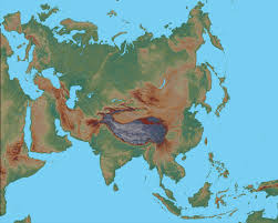 map of asai physical map of asia asia political map geology