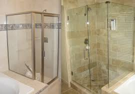 Framed Vs Frameless Shower Door Different Types Of Shower Doors Builders Glass Of Bonita Inc