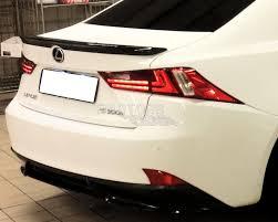 lexus is300h israel new f style for lexus is250 is sport rear trunk spoiler wing 4d