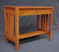 console tables stickley brothers small library table server or