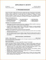 Resume Sample Objectives by Impressive Design Ideas Example Of Professional Resume 9 Free It