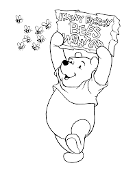 coloring page winnie the pooh coloring pages 82 coloring home