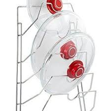Cabinet Door Pot Lid Organizer Lifewit Adjustable Pan Rack Pot Lid Holder With Draining Tray