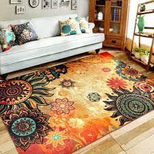 Livingroom Carpet Retro Carpets Big Rug 100x150cm 80x120cm National Classical