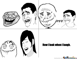 Laughing Face Meme - laughing by wallflower meme center