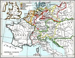Africa And Europe Map by Central Europe 1815 1903 By John Bagnell Bury 1861 1927