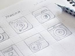 quick sketches for an app icon by oykun yilmaz dribbble