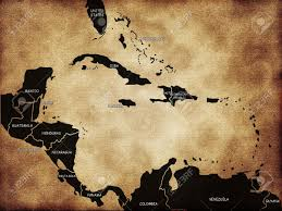 Map Of Caribbean by Map Of Caribbean Islands Stock Photo Picture And Royalty Free