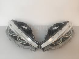 bmw headlights 3 series f30 f31 facelift lci 2015 full led headlights