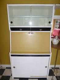 Retro Cabinets Kitchen by 1950s Vintage Hygena Pantry Larder Kitchenette Cupboard In Cream