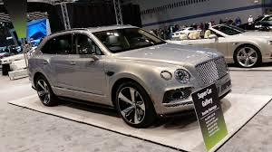 bentley bentayga grey car show safari news