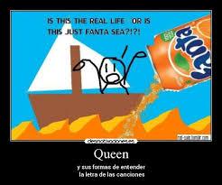 Fanta Sea Meme - queen desmotivaciones