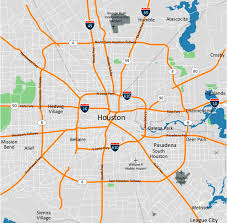 Houston Maps Image Gallery Houston City Map