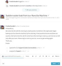 responding to customer conversations kayako support