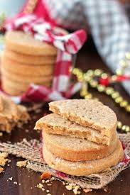 peanut butter and honey shortbread cookies savory nothings