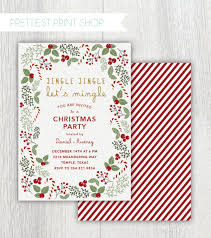 printable christmas party invitations printable christmas party invitation jingle jingle lets