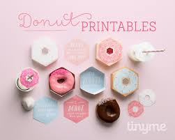 personalized donut boxes food baking kara s party ideas