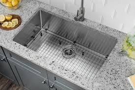 Undermount Kitchen Sink Stainless Steel Soleil Radius 16 Stainless Steel 32 X 19 Single Bowl