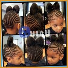 plaited hair styleson black hair african princess little black girl natural hair styles on for cute