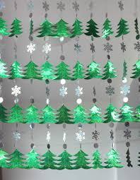 diy sequined curtains drop ornaments festive decorations
