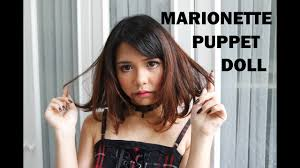 marionette puppet doll makeup halloween 2016 youtube