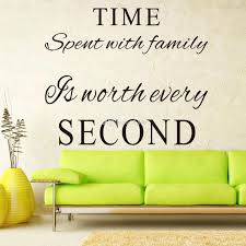 wall ideas vinyl wall art stickers australia vinyl wall art cricut home decor vinyl wall art project cartridge time spent with family is worth every second vinyl wall decals quotes words art decor lettering wall art