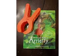 arrietty hair clip studio ghibli s secret world of arrietty hair clip by lanphamjr