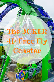 Six Flags Coupon The Joker New England U0027s First 4d Free Fly Coaster Sixflags
