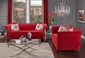red living room set fine red living room sets livingroom design shab chic decorating
