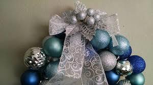 diy create a beautiful ornament wreath for around 10
