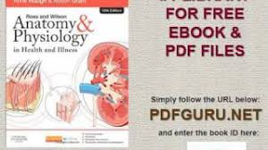 Download Ross And Wilson Anatomy And Physiology Ross And Wilson Anatomy And Physiology Ebook Free Download Howl