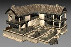 house 3d models max free 3d house max download