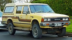 nissan stanza 1983 datsun truck