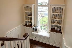 Window Seat Bookshelves Pretty Window Seat With Bookshelves On Window Seat Bookcases Home
