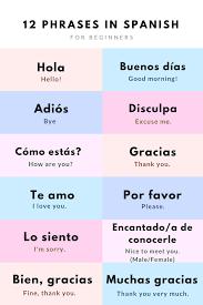 Essential spanish travel phrases nice one pinterest italian