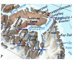 Greenland Map Iceland And Greenland Locations