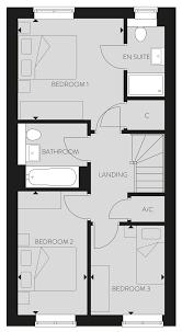 Master Bedroom Ensuite Floor Plans by Plot 8 The Amersham Fairfield Gardens Crest Nicholson