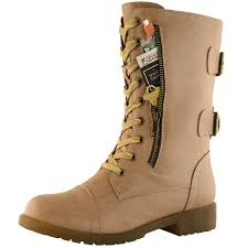 s fold combat boots size 12 amazon com dailyshoes s ankle lace up buckle