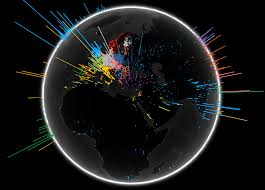 Map Of The Internet The Internet Map Fascinating Ways To Visualize The Web
