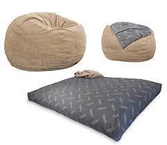 Cool Bean Bag Chairs Amazon Com Cordaroy U0027s Khaki Corduroy Convertible Bean Bag Chair