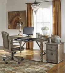 Tanshire Wood Faux Leather Pc Home Office Furniture Set The - Tanshire counter height dining room table price