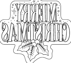 merry chrismas coloring picture coloring pages kids