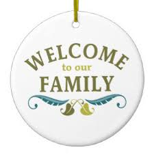 welcome to the family ornaments keepsake ornaments zazzle