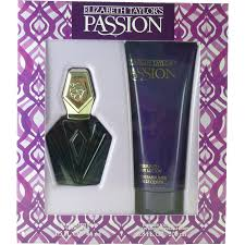 elizabeth taylor passion set 44ml eau de toilette spray 200ml
