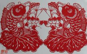 chinese paper cutting art by face disabled artist with als