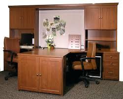 Partner Desk With Hutch Partner Desk Home Office Desks For The Home Study Spaces