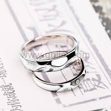 Couple Wedding Rings by Engraved Celebrity Couples Gold Silver Wedding Bands For Two